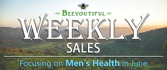 Beeyoutiful Essential Oil Sale Men