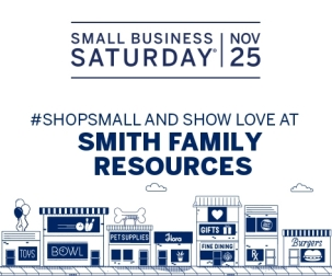 Smith Family Resources Small Business Saturday town