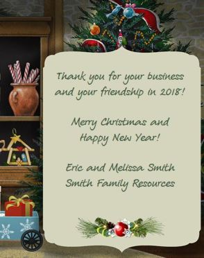 Smith Family Resources Jacquie Lawson Christmas Card Message