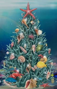 Smith Family Resources Jacquie Lawson Christmas Card Ocean Tree